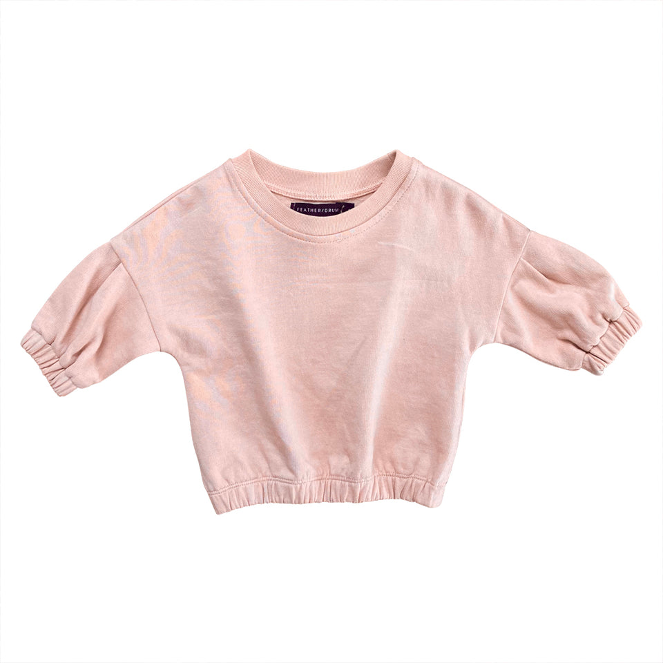 BABY AVERY SWEATER - FLOSS