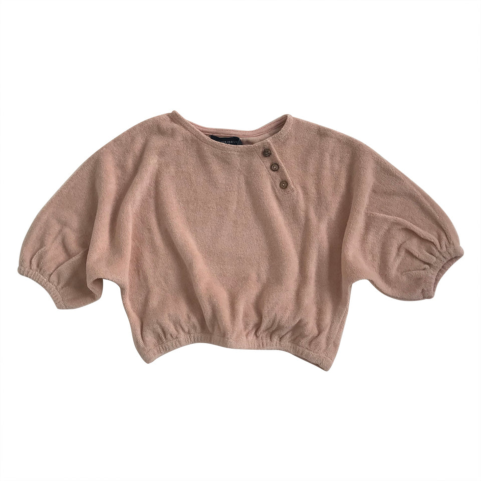 Quinn Baby Sweater - Blush