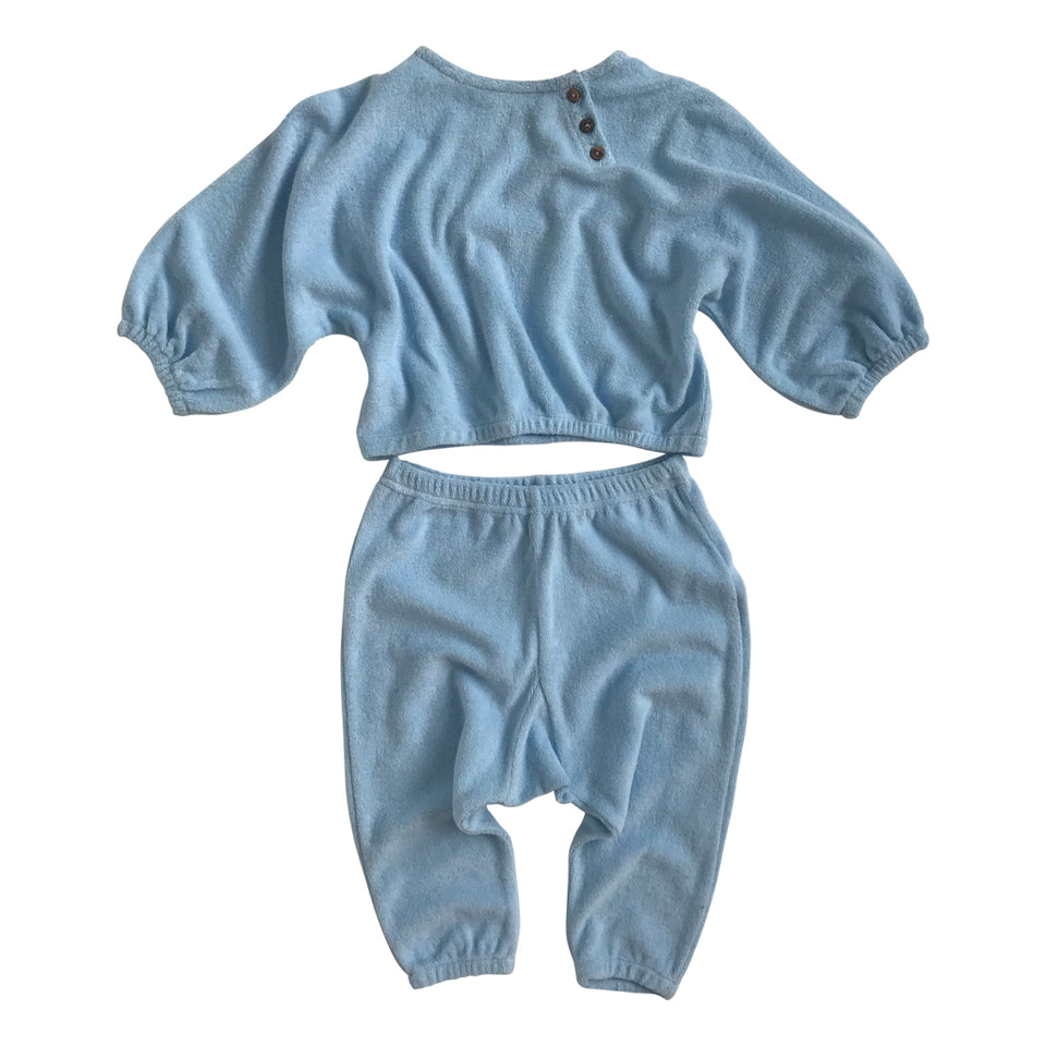 Bailey Baby Harem Pant - Powder Blue