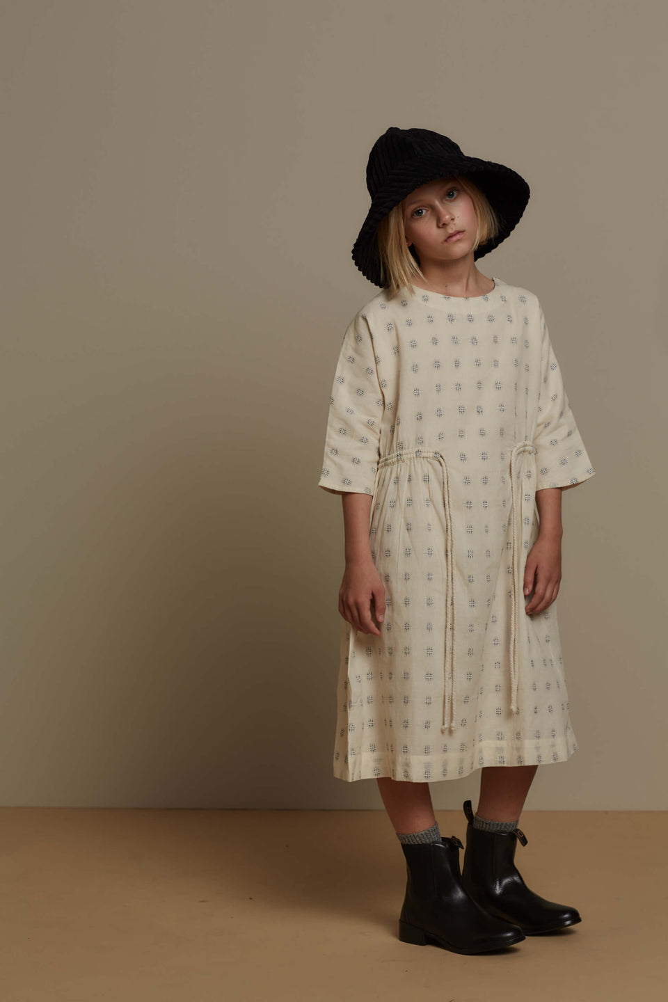 SLOANE DRESS - EMBROIDERED