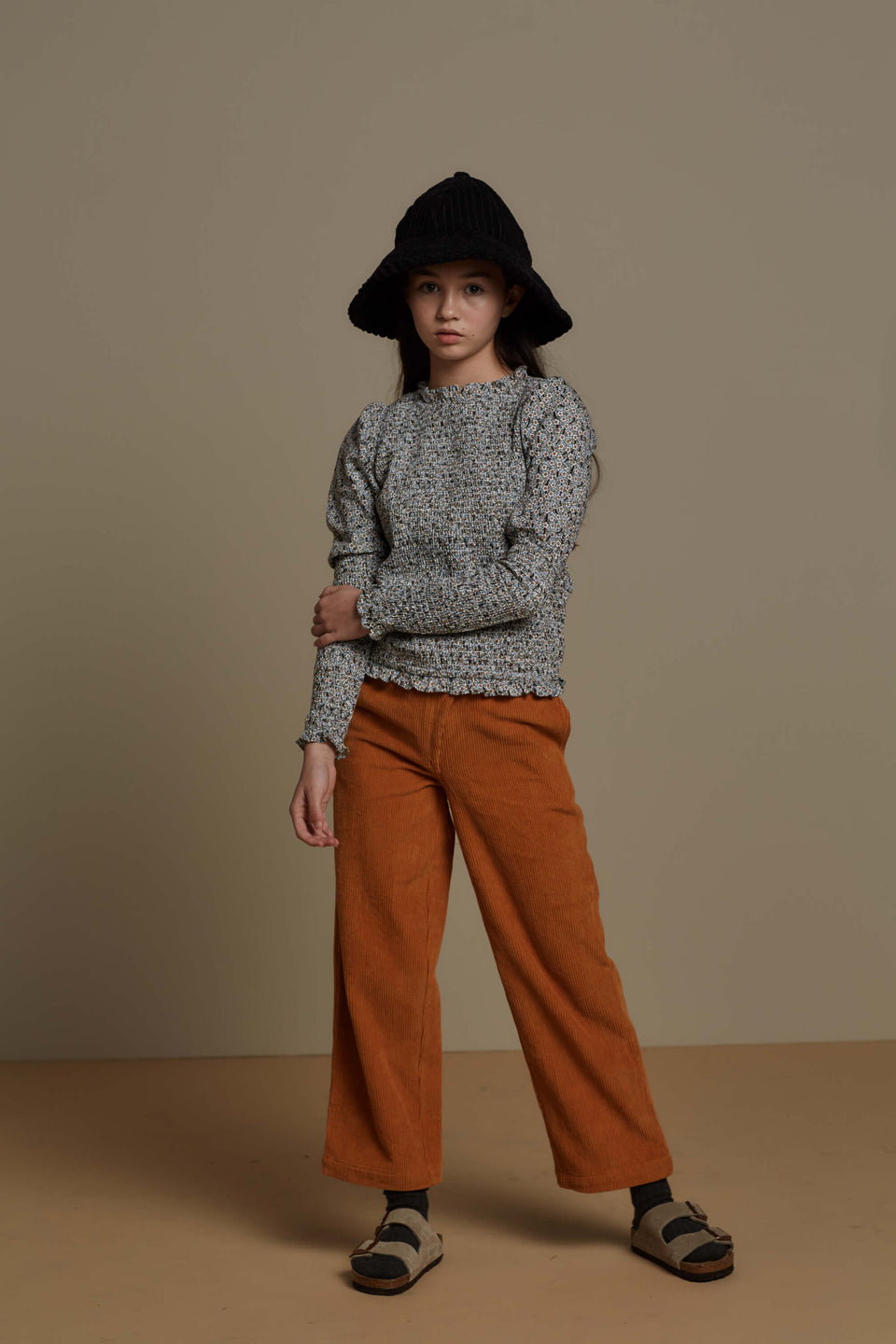 AINSLEY PANT - INCA GOLD