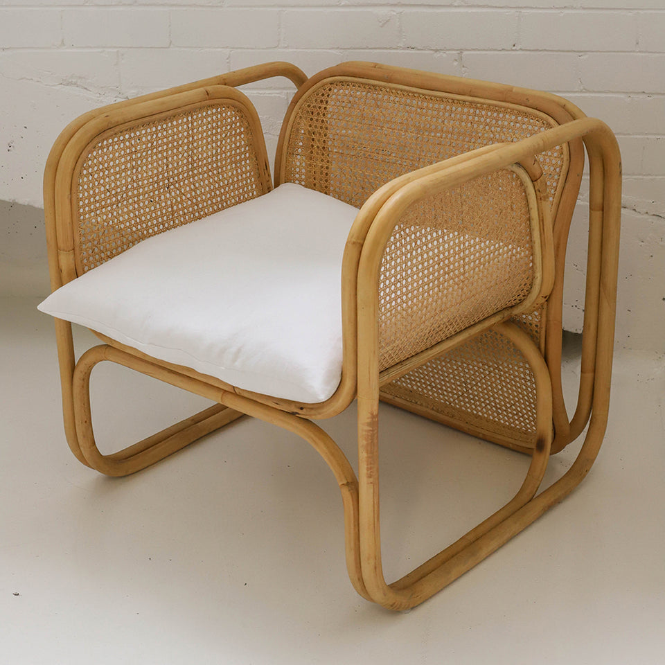 The Cane Lounger - Natural