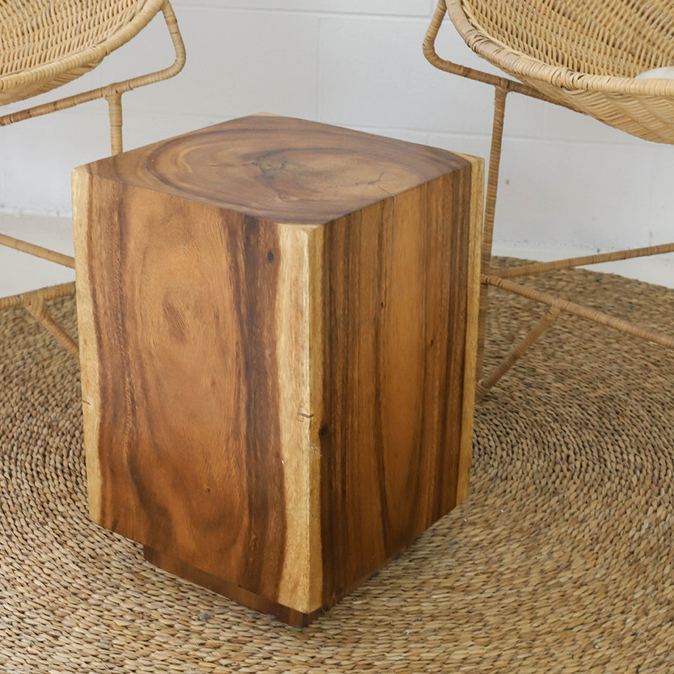 The Indent Square stump Natural