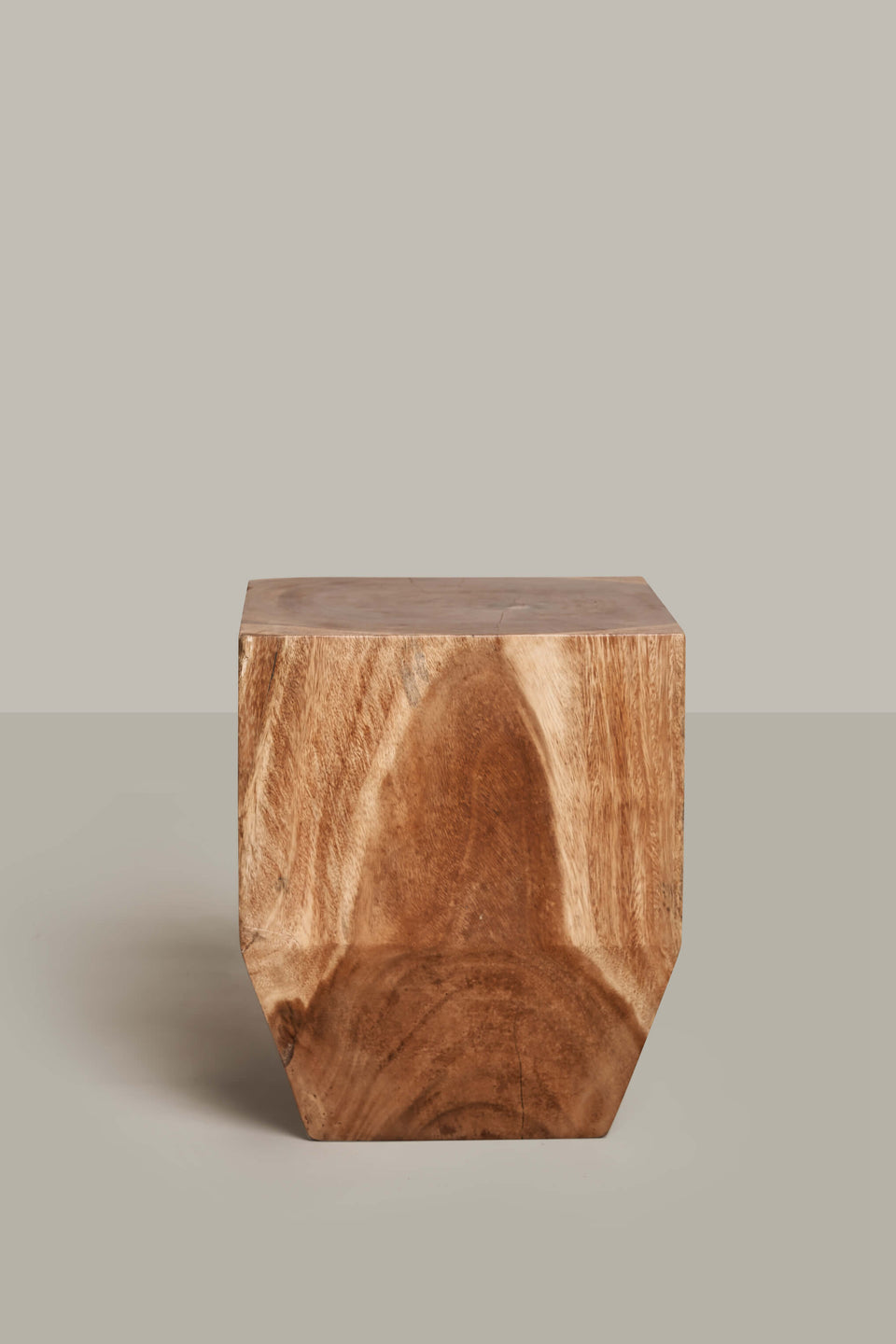 Square Peg Stump - Natural