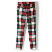 画像をギャラリービューアに読み込む, ORIGINAL FLANNEL CHECK PANTS INSEAM STRECH PANTS