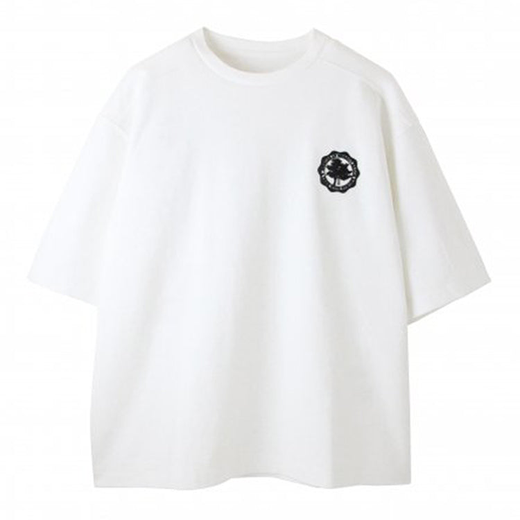 WHITE/Over size T-shirts