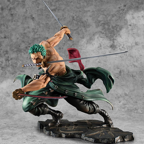 Hot Selling One Piece 18cm Anime Figure Roronoa Zoroفيقر رونوروا زور
