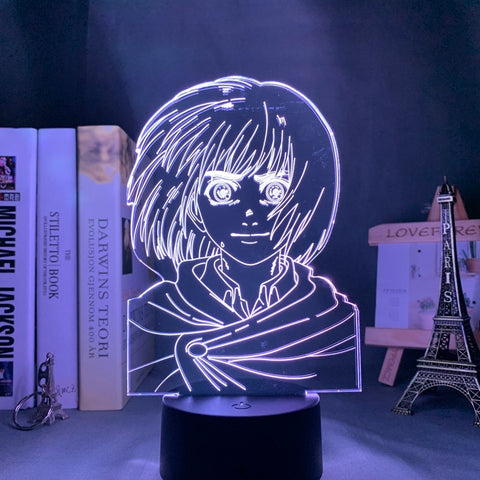 Attack On Titan LED Lamp هجوم العمالقه LEDاضاءه