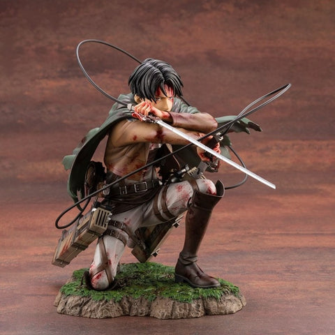 18cm Attack on Titan Figure Rival Ackerman Action Figure فيقر ليفاي