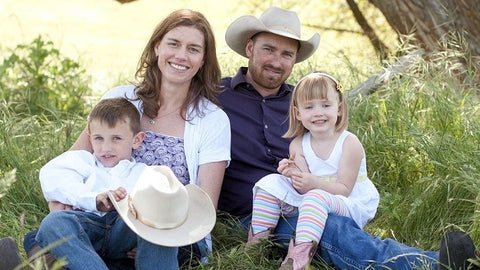 Mariposa Ranch family