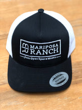 Load image into Gallery viewer, Mariposa Ranch Logo Hat, Black (Unisex)