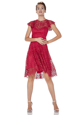 Lace Party Dress -