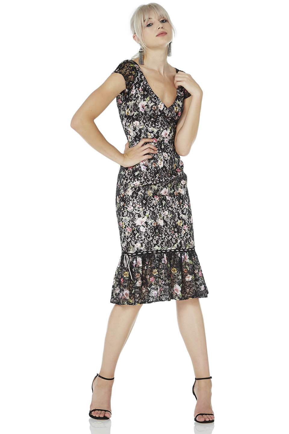 Lace Cocktail Dress – THEIA
