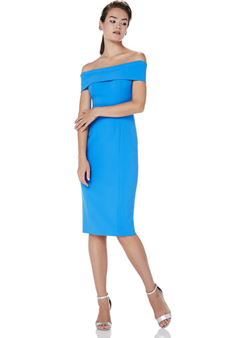One Shoulder Corded Dress -