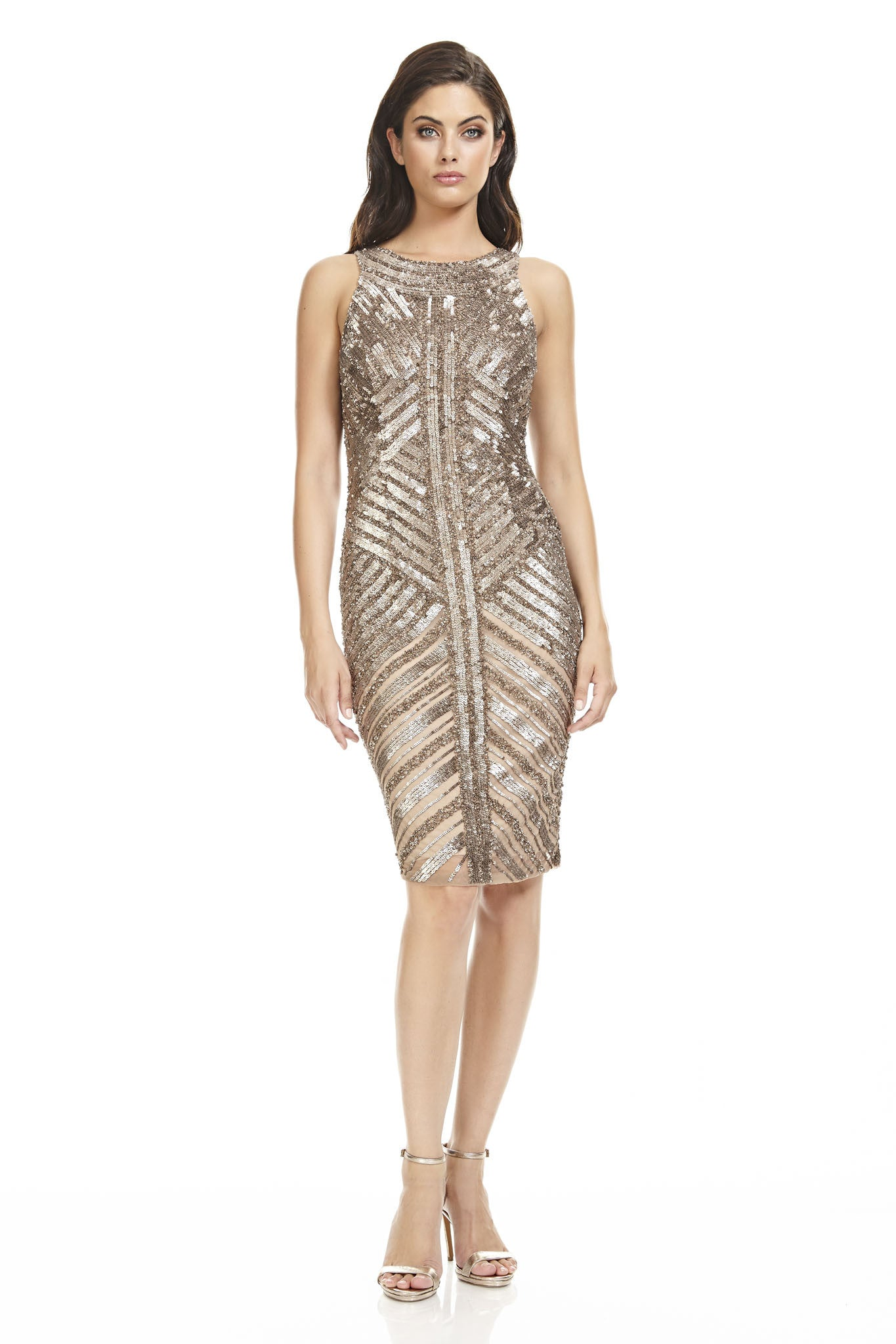Beaded Cocktail Dress – THEIA