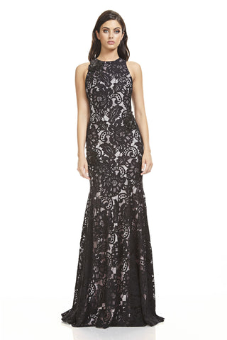 Corded Lace Gown - 