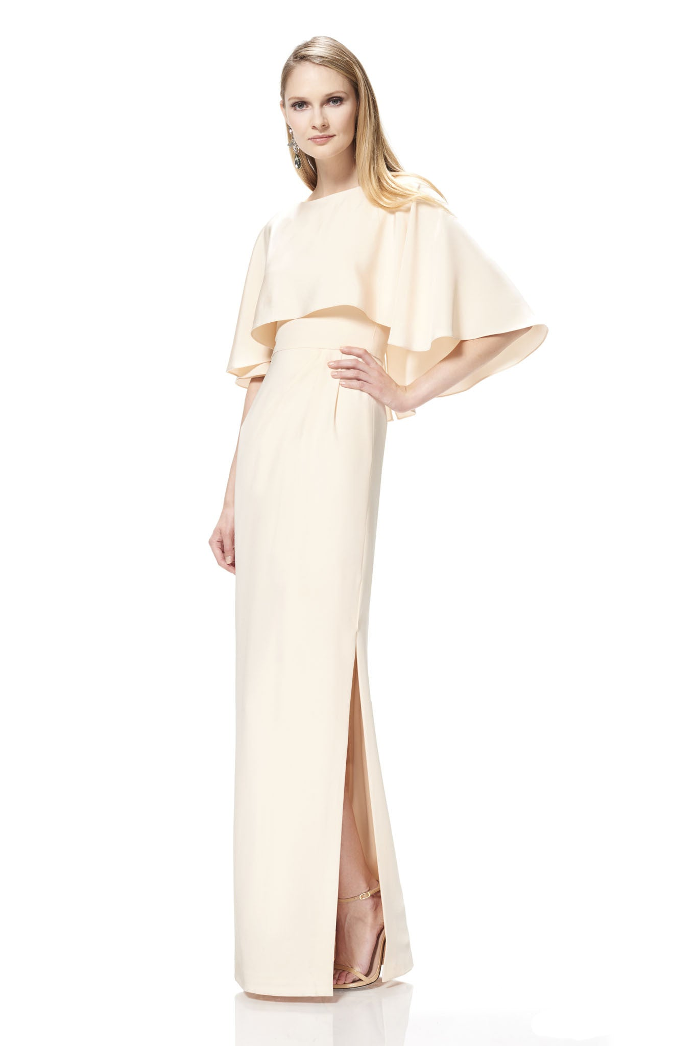 Silk Crepe Gown – THEIA