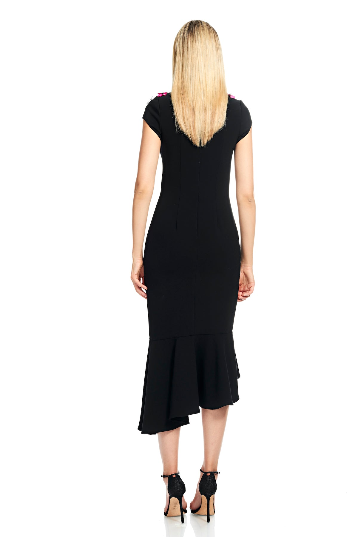 Crepe Cocktail Dress – THEIA