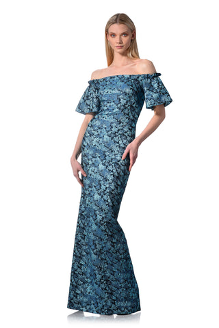 595eb95988f5 Off The Shoulder Column Gown