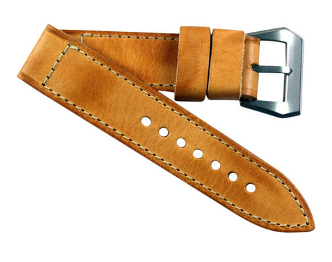 MPSE Olterra Legendary leather in Vintage style tan with sewn in Pre-V Olterra buckle