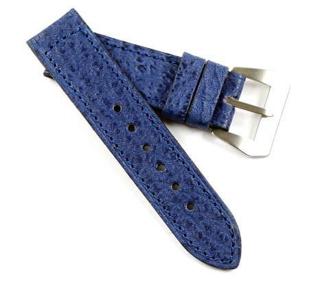MP in Blue Fango Sharkskin...The Original Style for your Panerai Watch - Mario Paci Straps
