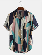 Load image into Gallery viewer, Men's Fashion Casual Printed Shirts