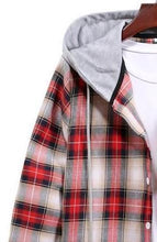 Load image into Gallery viewer, New arrival men hooded shirt