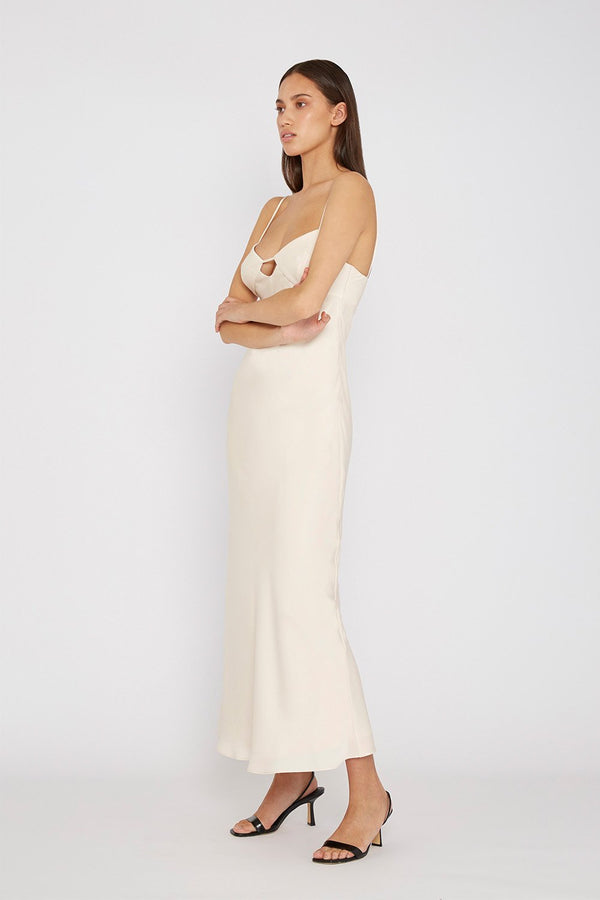 BY JOHNNY The Orchid Slip Dress IN CREME-By Johnny-Frolic Girls