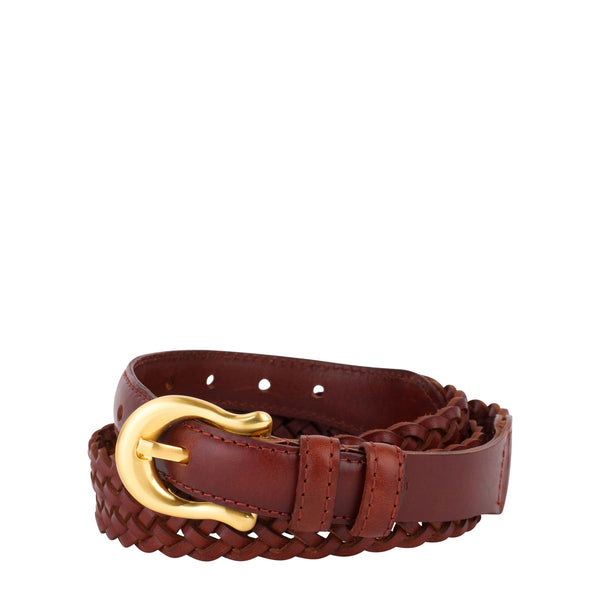 SANCIA The Daria Woven Belt VINTAGE TAN-sancia-Frolic Girls