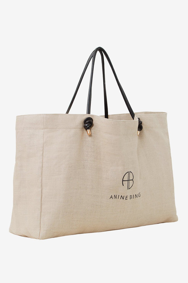 ANINE BING Large Saffron Tote Bag IN BROWN-Anine Bing-Frolic Girls