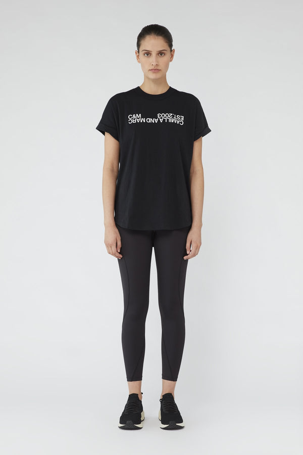 CAMILLA & MARC Huntington 2.0 Tee BLACK-Camilla and Marc-Frolic Girls
