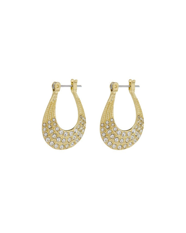 LUV AJ The Diana Pave Hoops GOLD-Luv Aj-Frolic Girls