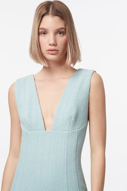 MANNING CARTELL Herringbone Raffia Midi Dress-Manning Cartell-Frolic Girls