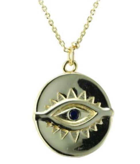 Eye See You Necklace-Smith-Frolic Girls