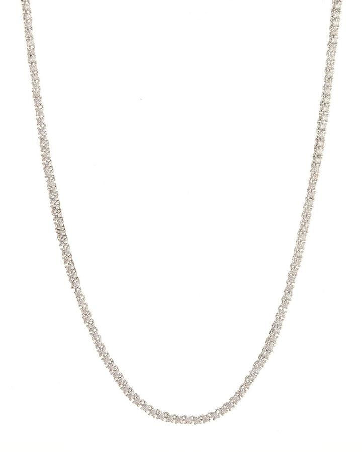 LUV AJ Mini Ballier Necklace SILVER-Luv Aj-Frolic Girls