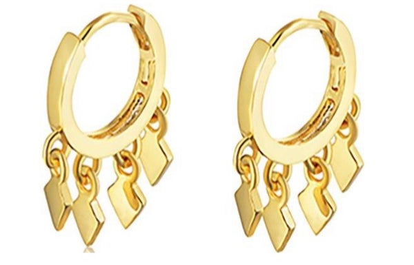 Dia Mini Hoop Earrings-Smith-Frolic Girls