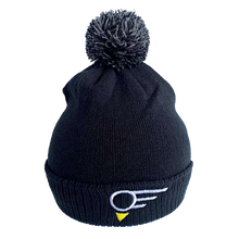 "Load image into Gallery viewer, Black EGN ""ELEVATION""  Golf Bobble Hat"