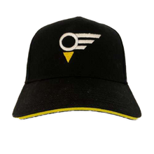 "Load image into Gallery viewer, Black EGN ""ELEVATION""  Golf Cap"