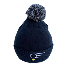 "Load image into Gallery viewer, Navy EGN ""ELEVATION"" Golf Bobble Hat"