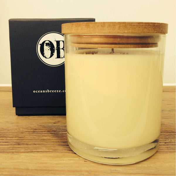Lime Zest & Patchouli Candle