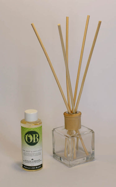 Lime Zest & Patchouli Diffuser Oil