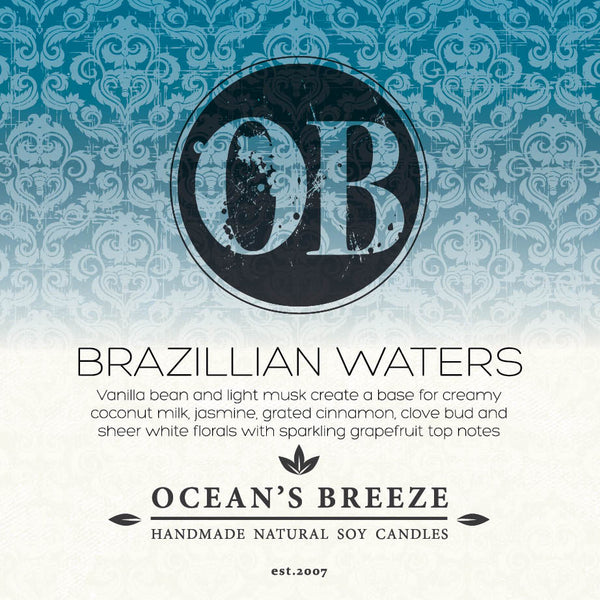 Brazillian Waters Candle