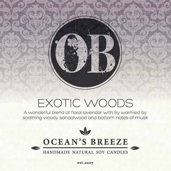 Exotic Woods Candle