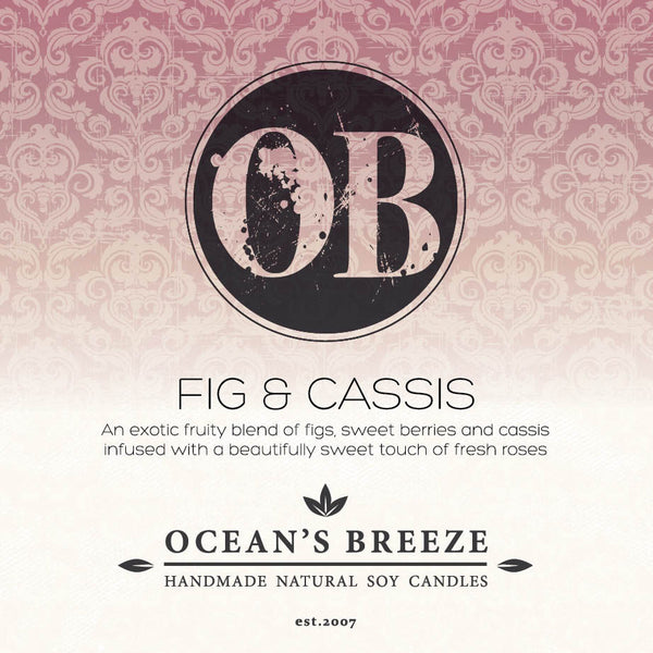 Fig & Cassis Soy Melts