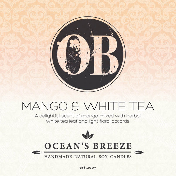 Mango & White Tea Candle