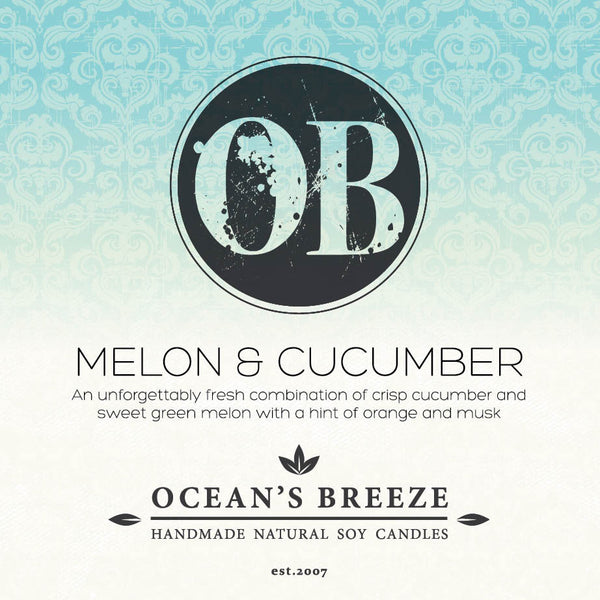 Melon & Cucumber Soy Melts