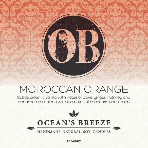 Moroccan Orange Soy Melts