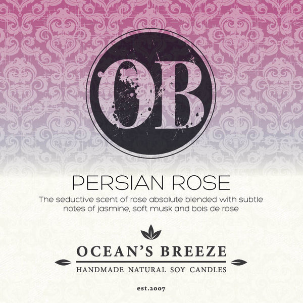 Persian Rose Candle