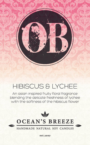Hibiscus & Lychee Diffuser Oil