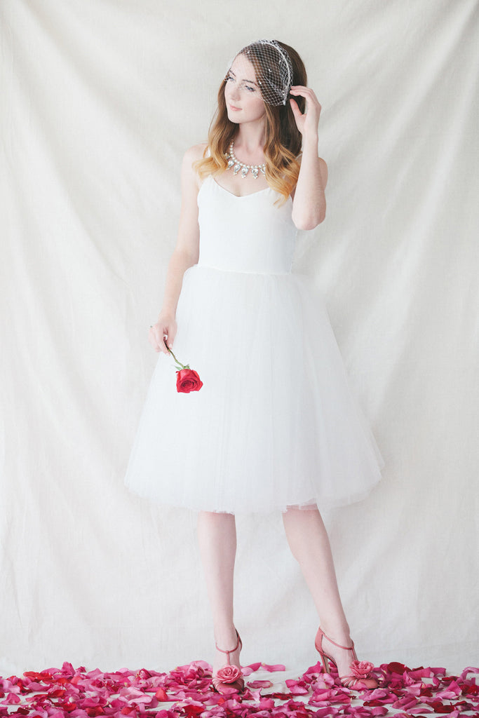 The Claire Dress - Ivory